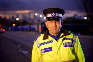 Mohammed Sadheer, who was named the force's PCSO of the Year in 2016.