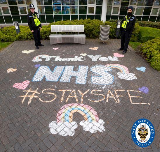 Thankyou NHS #Staysafe