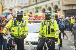 Officers on duty at Birmingham Pride