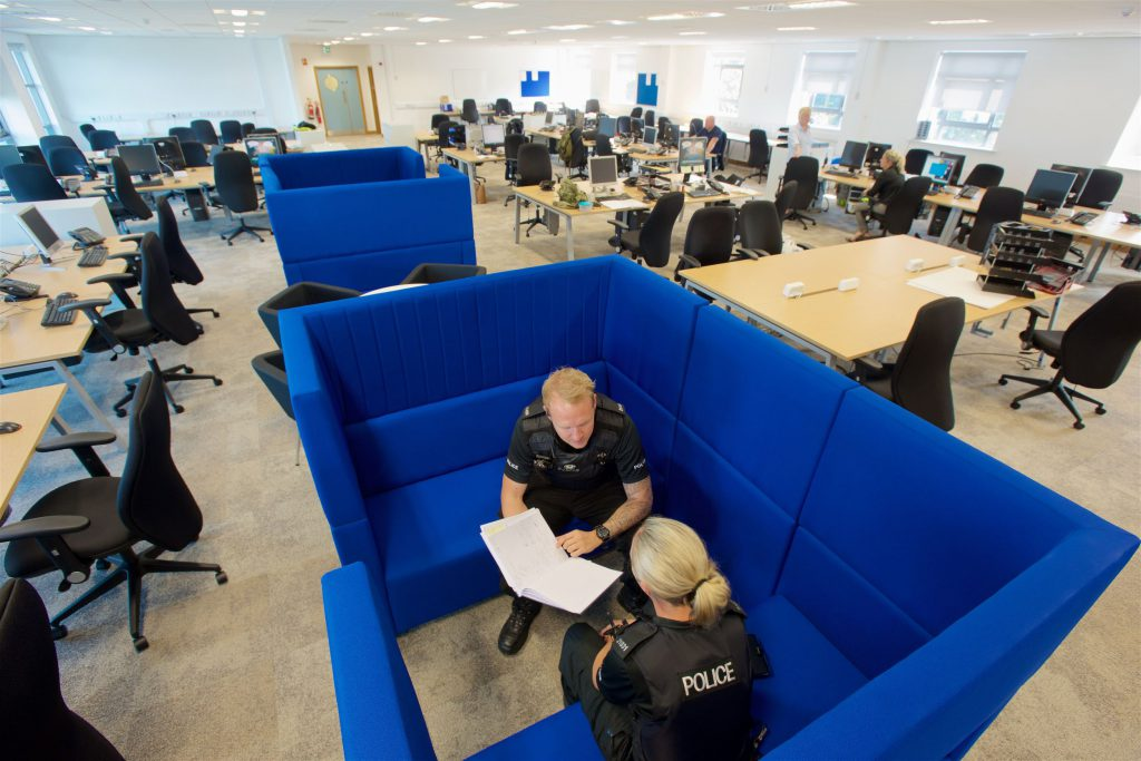 Newly refurbished Bloxwich police station.
