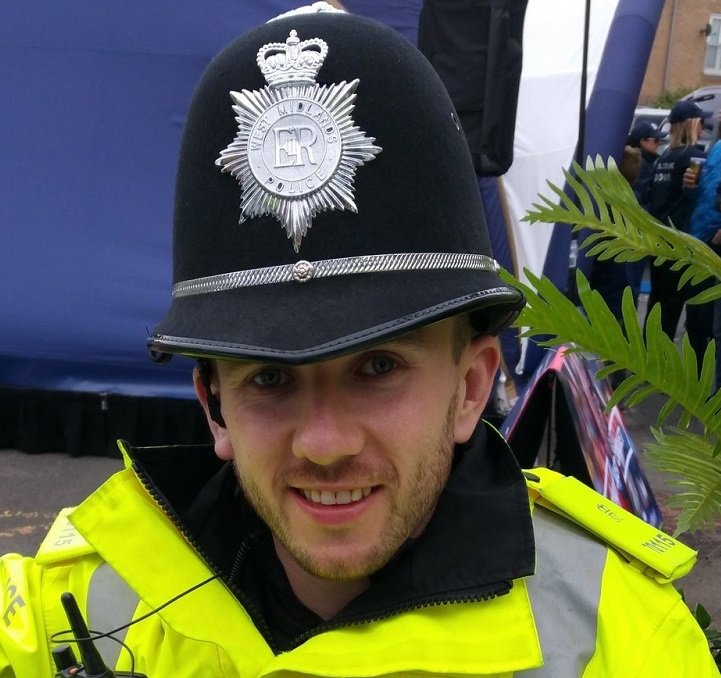Special Constable Tom Davey