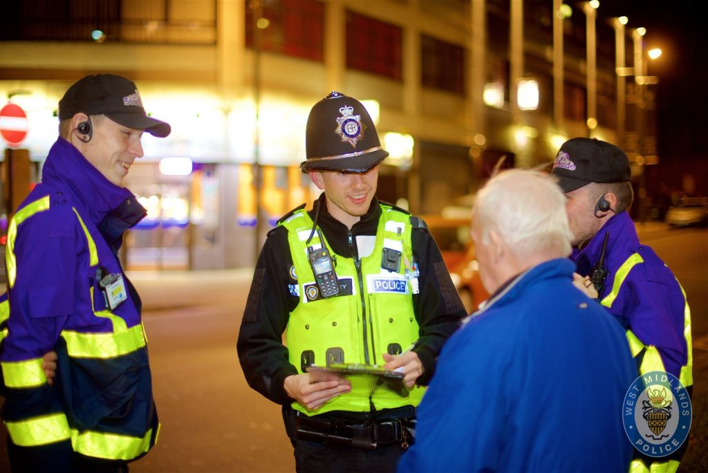 Special Constabulary patrol